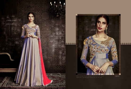 Violet Tapeta Readymade Suit